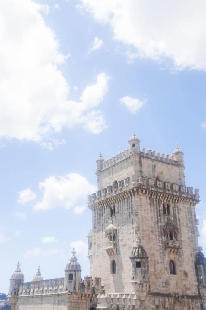 tower in belem lisbon