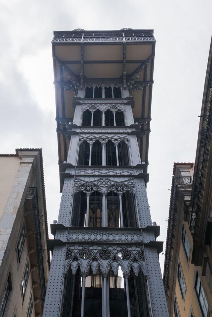 Lisbonlift view
