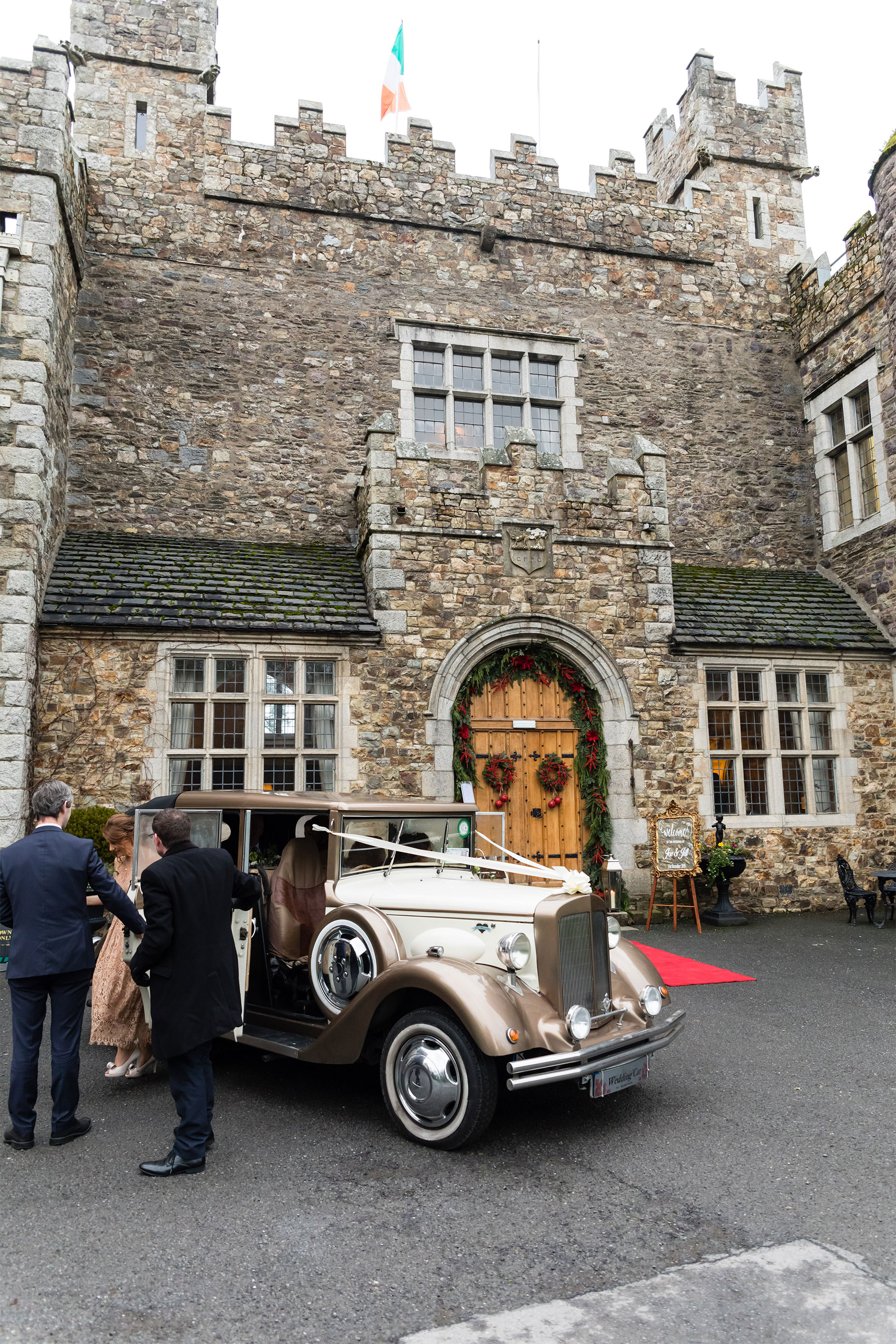 Waterford Castle Wedding Ceremony Photography Katie Kav