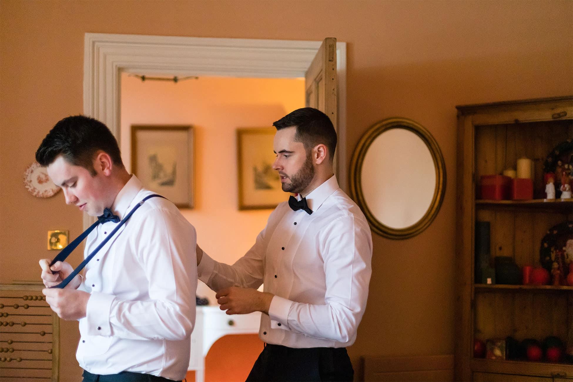groom style braces