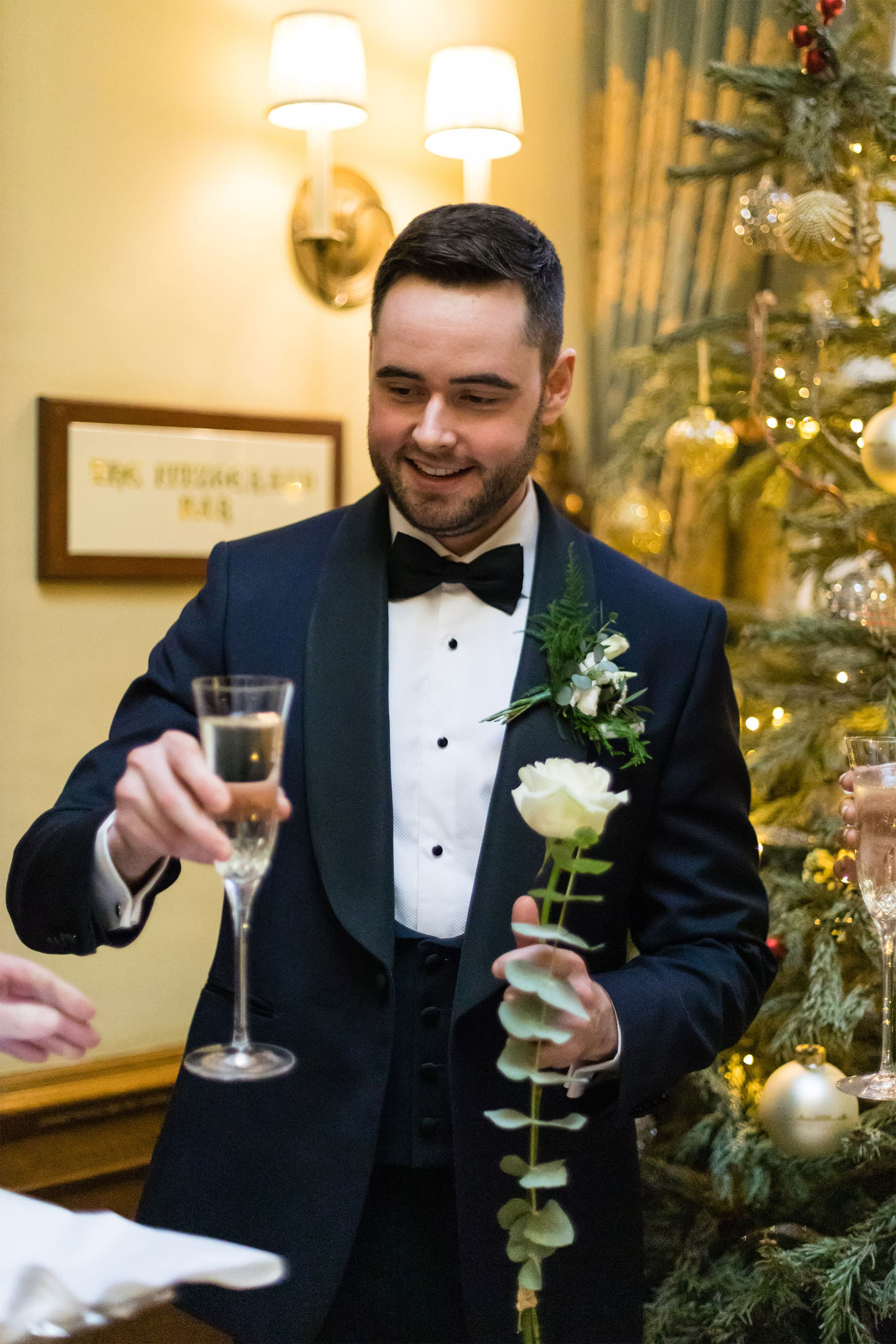 Waterford Castle Christmas Wedding Photography Katie Kav