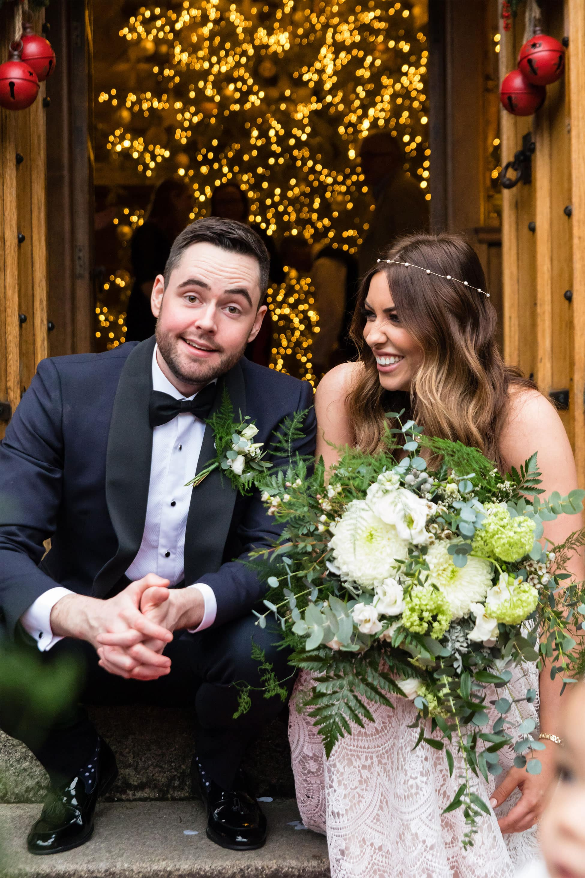 Waterford Castle Wedding Reception Photography Katie Kav