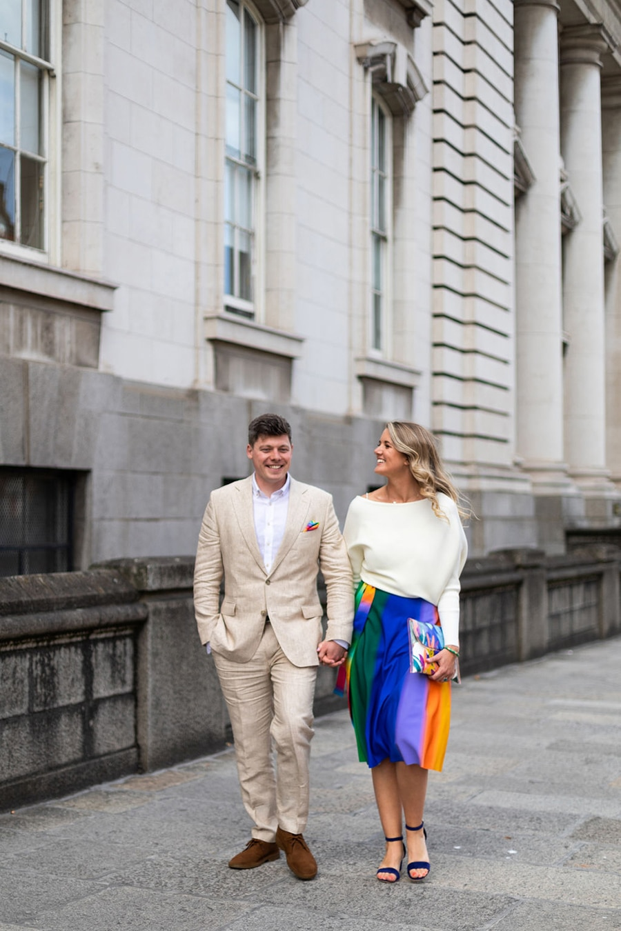 relaxed irish wedding photographer
