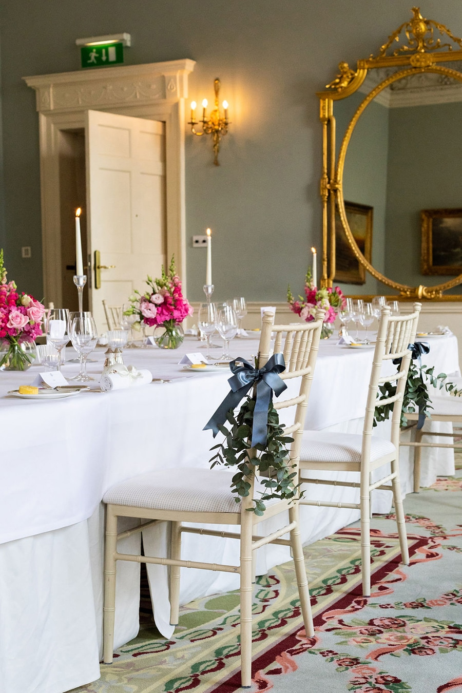 small socially distanced wedding at the merrion hotel dublin city centre