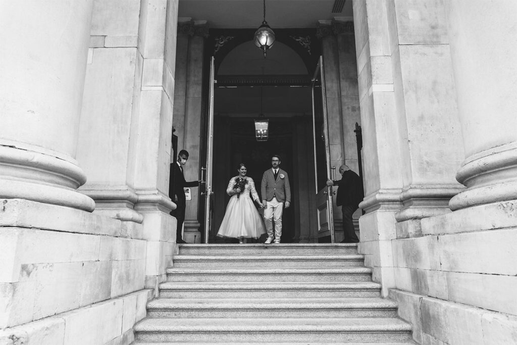 Small Covid-19 Wedding Dublin City Hall