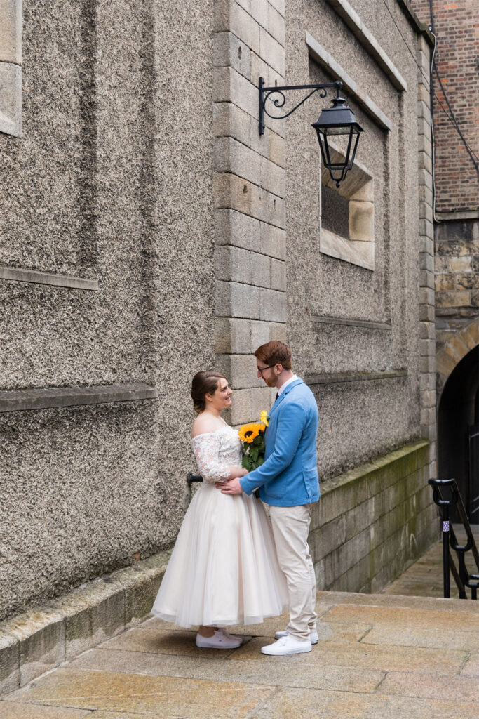 Dublin City Centre Wedding during covid19