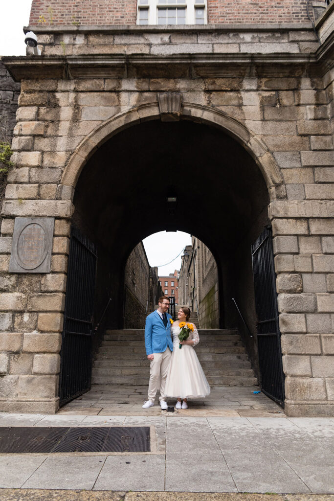 small Dublin City wedding photographer