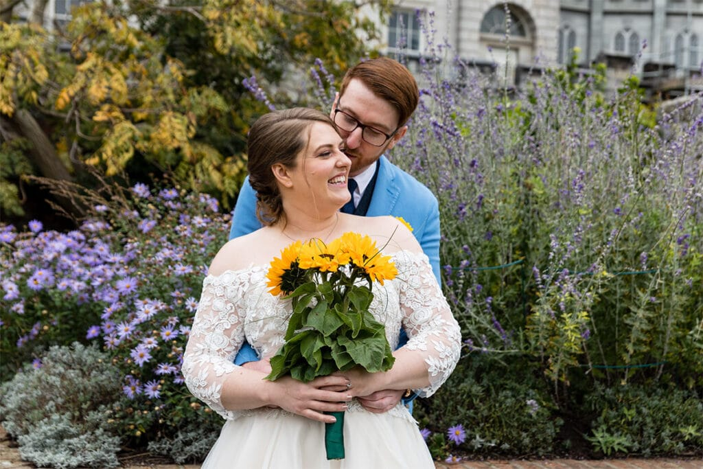 small dublin city centre wedding photographer