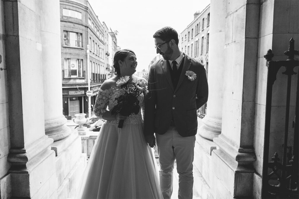 Dublin City Hall Wedding Ceremony