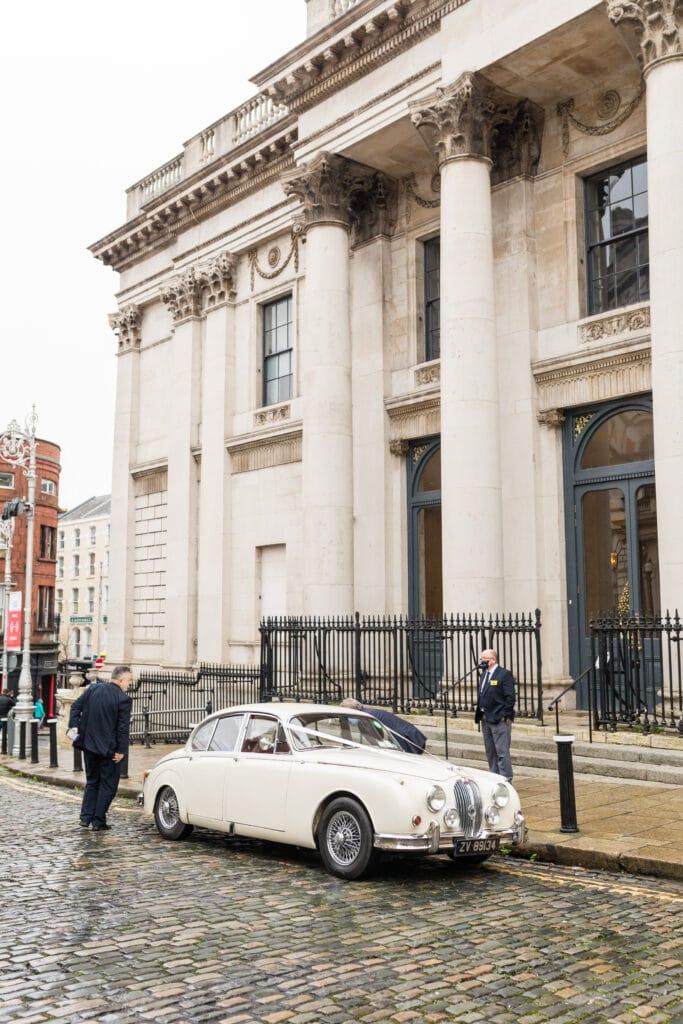 Dublin City Hall Wedding Car