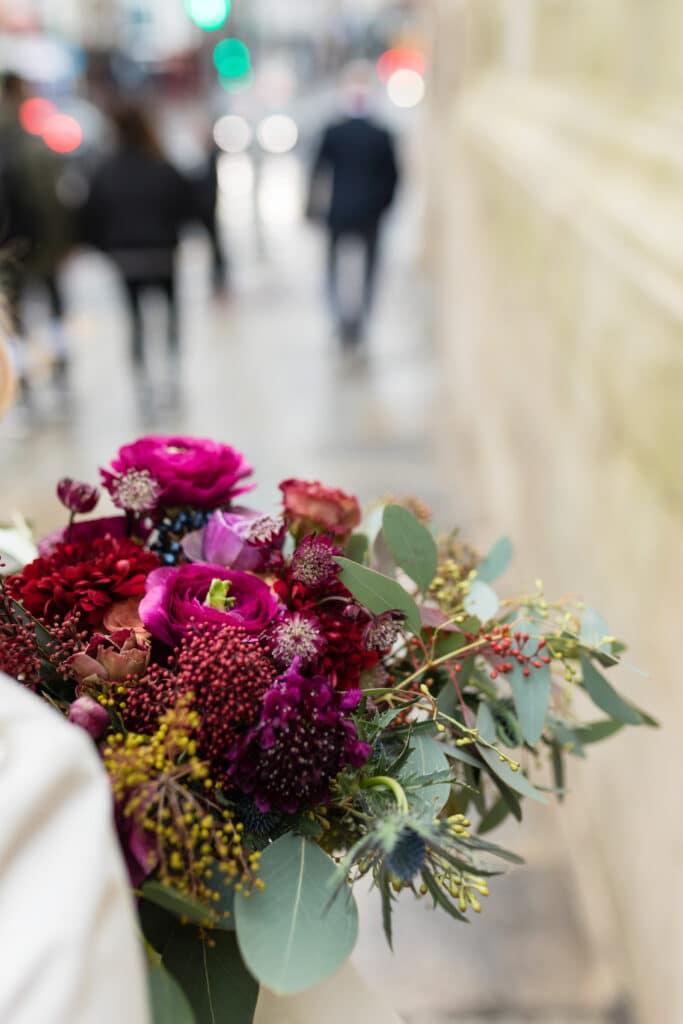 Dublin City Hall Wedding Flowers