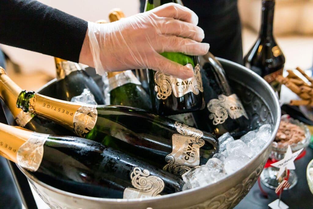 Dublin City Hall & Westbury Hotel Wedding drinks reception