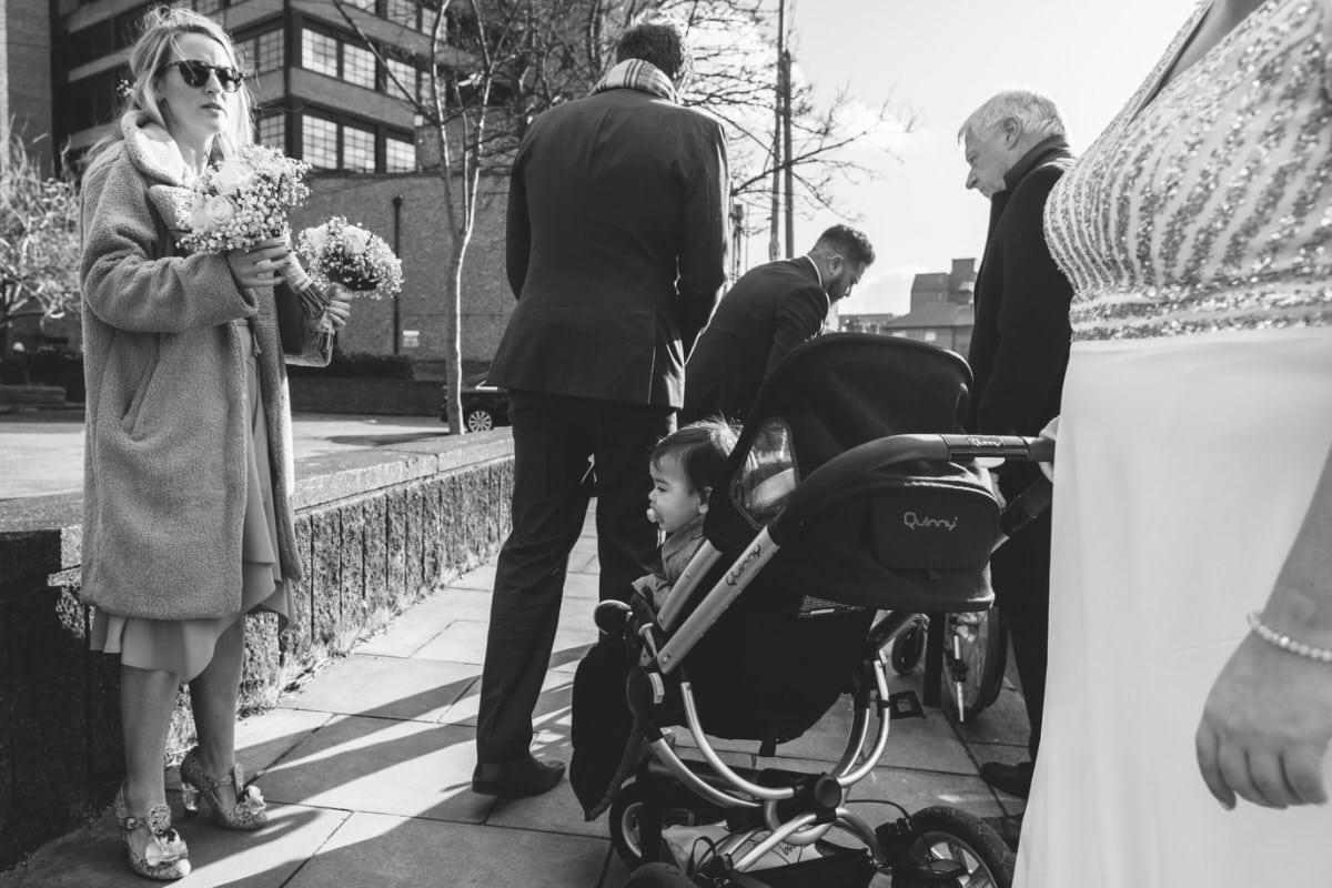 documentary wedding photographer dublin city centre