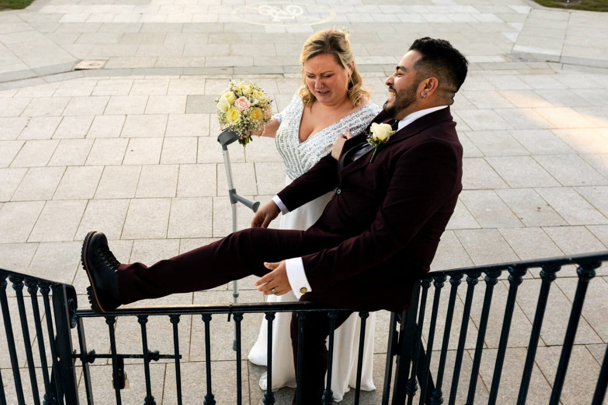 Bray Seafront Wedding Photography