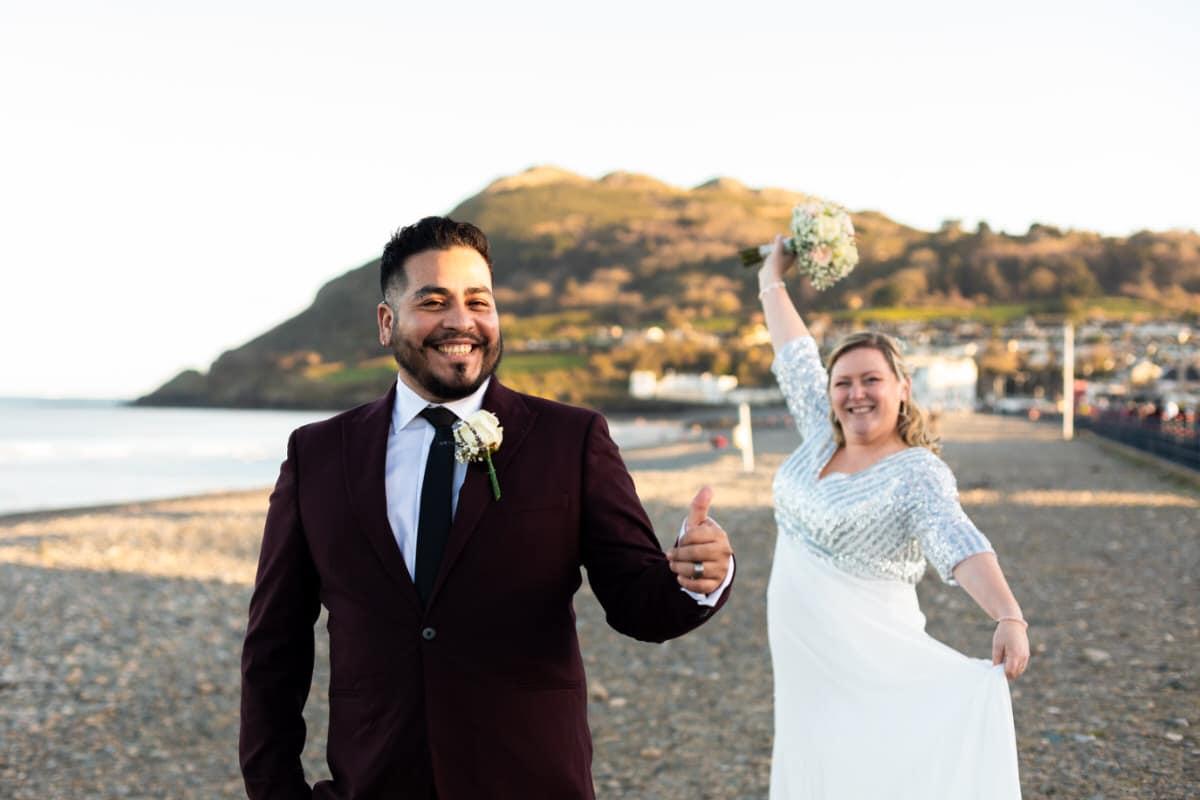 Bray Beach Wedding Photography