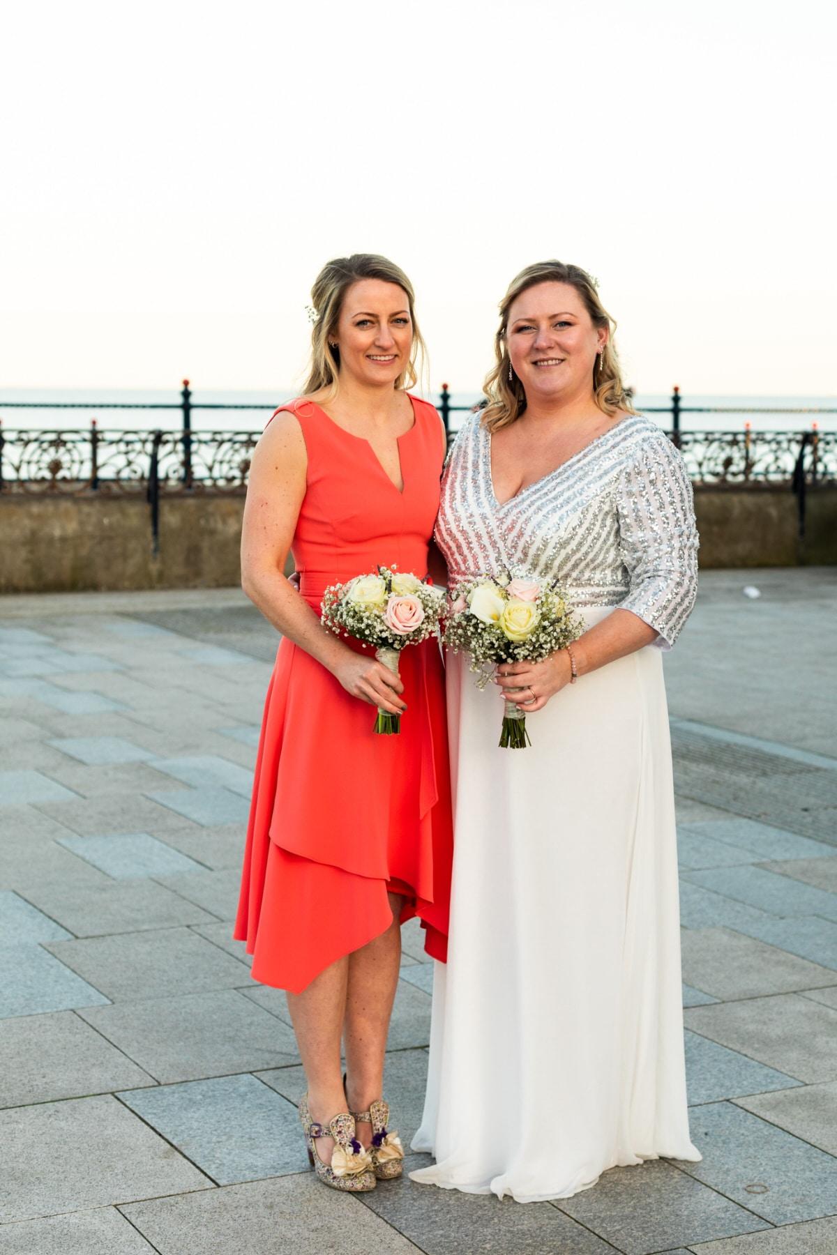 coral bridesmaids dress ireland