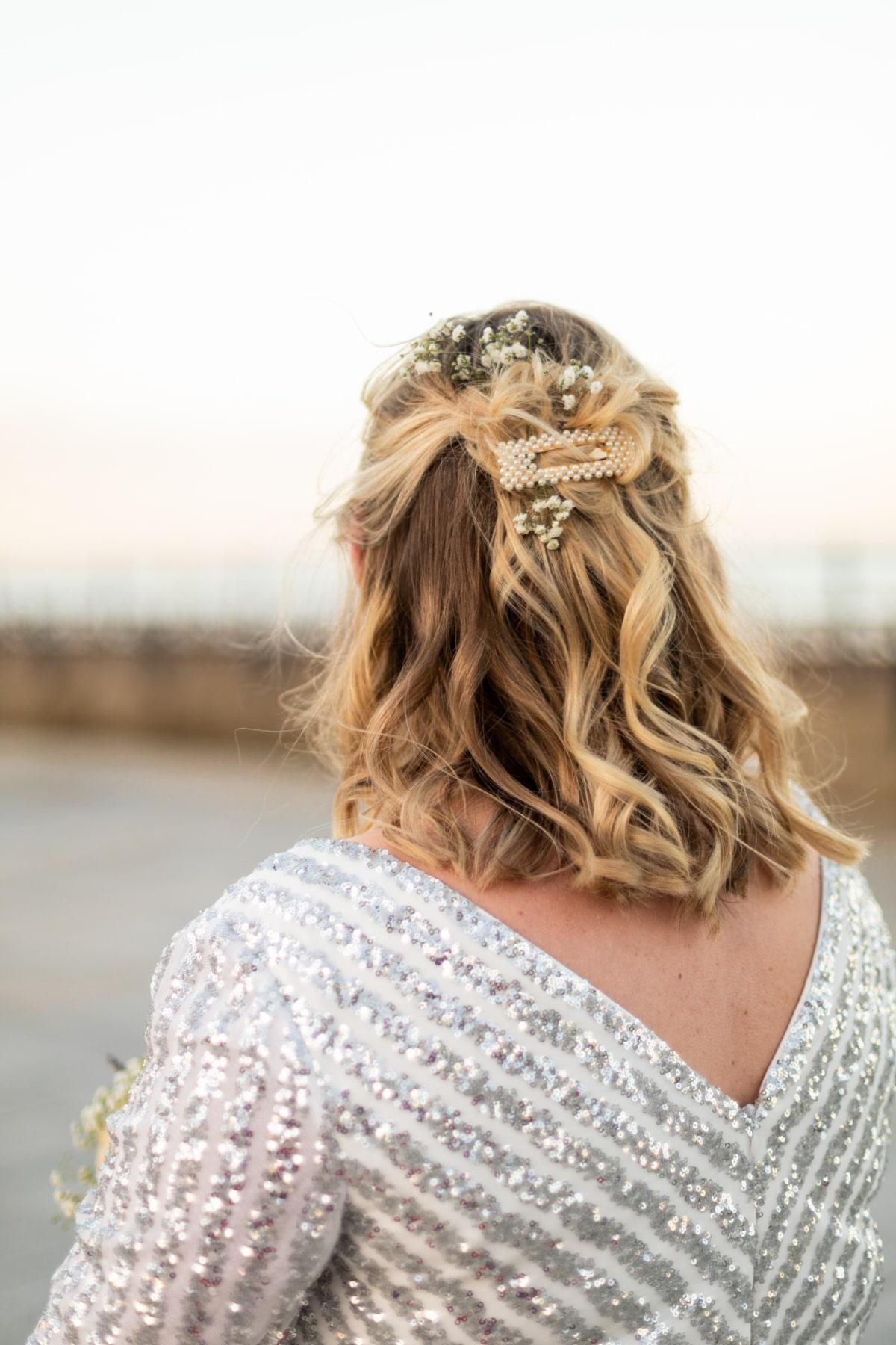 alternative wedding dress covid wedding