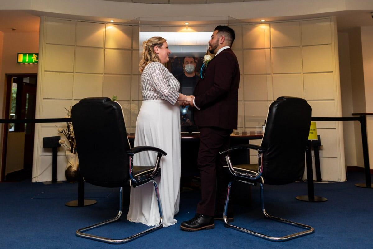Covid 19 Level Dublin Registry Office wedding photographer