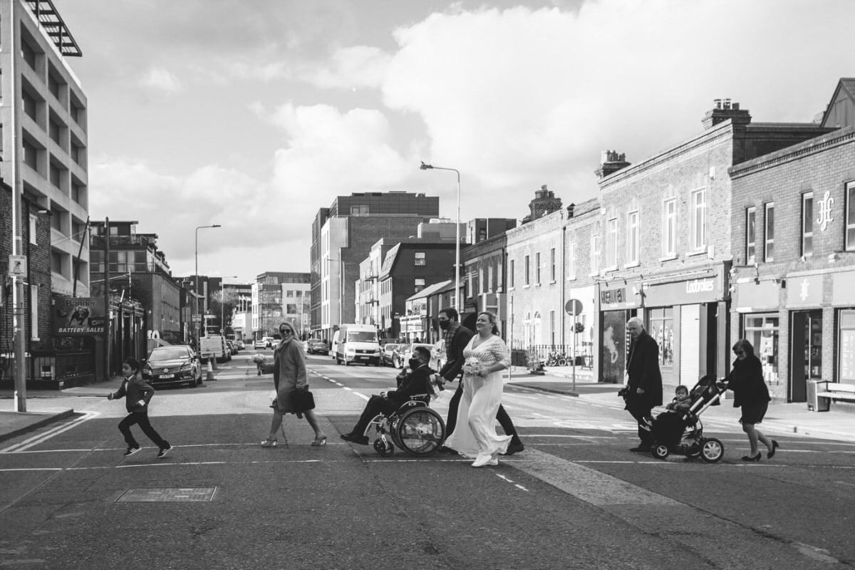 dublin city centre wedding photographer