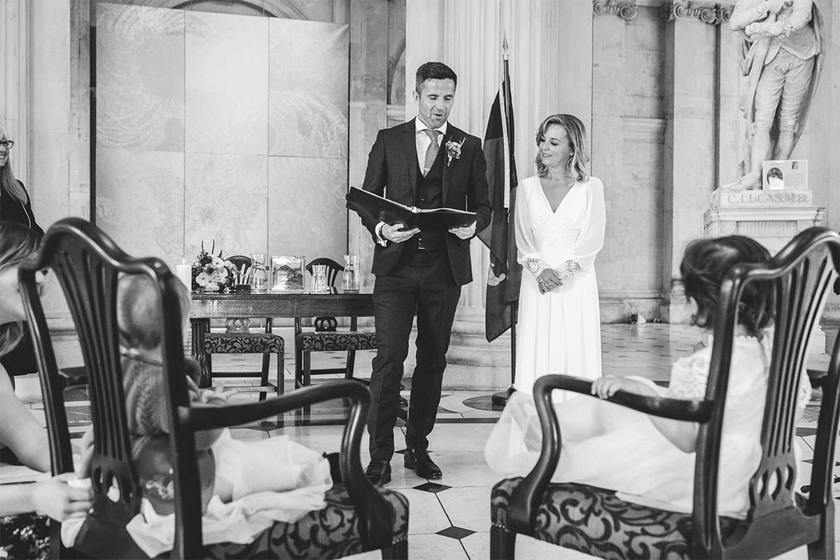 Dublin City Hall Wedding Ceremony