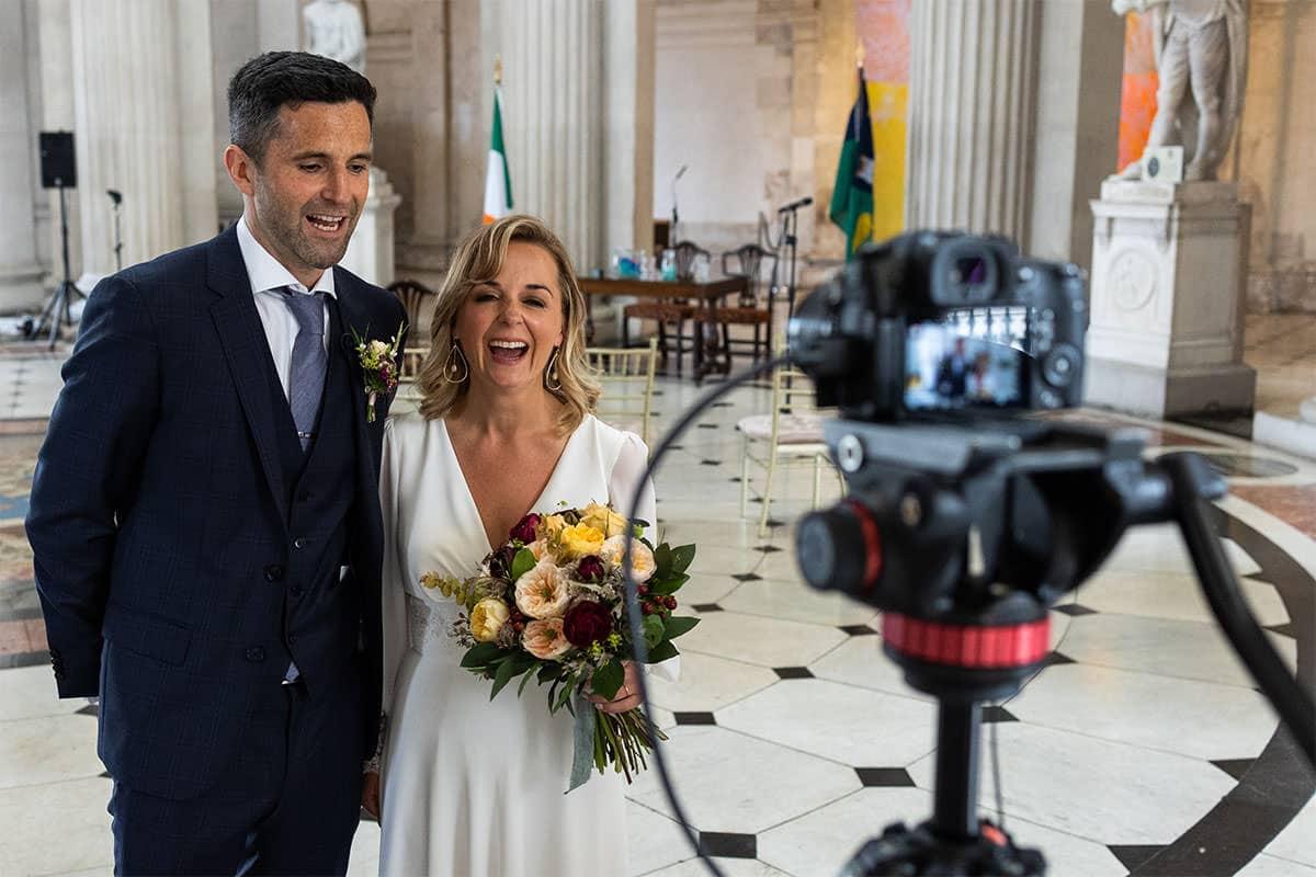 Live stream Dublin City Hall Wedding Ceremony