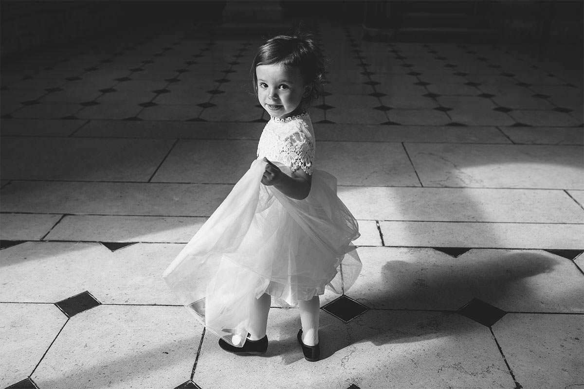 kids at Dublin City Hall Shelbourne Hotel Wedding