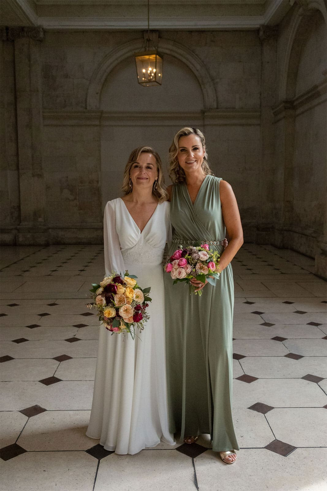 bridal party photos Dublin City Hall Shelbourne Hotel Wedding