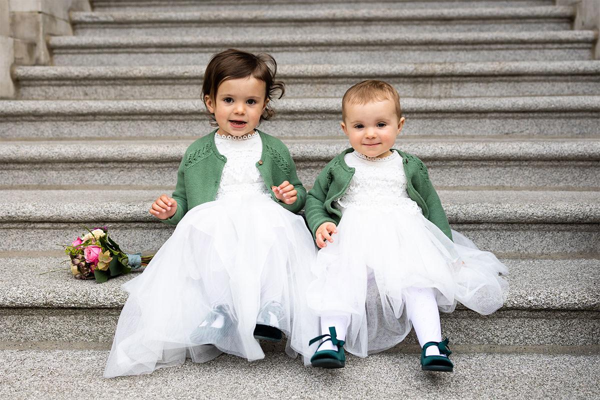 kids Dublin City Hall Shelbourne Hotel Wedding