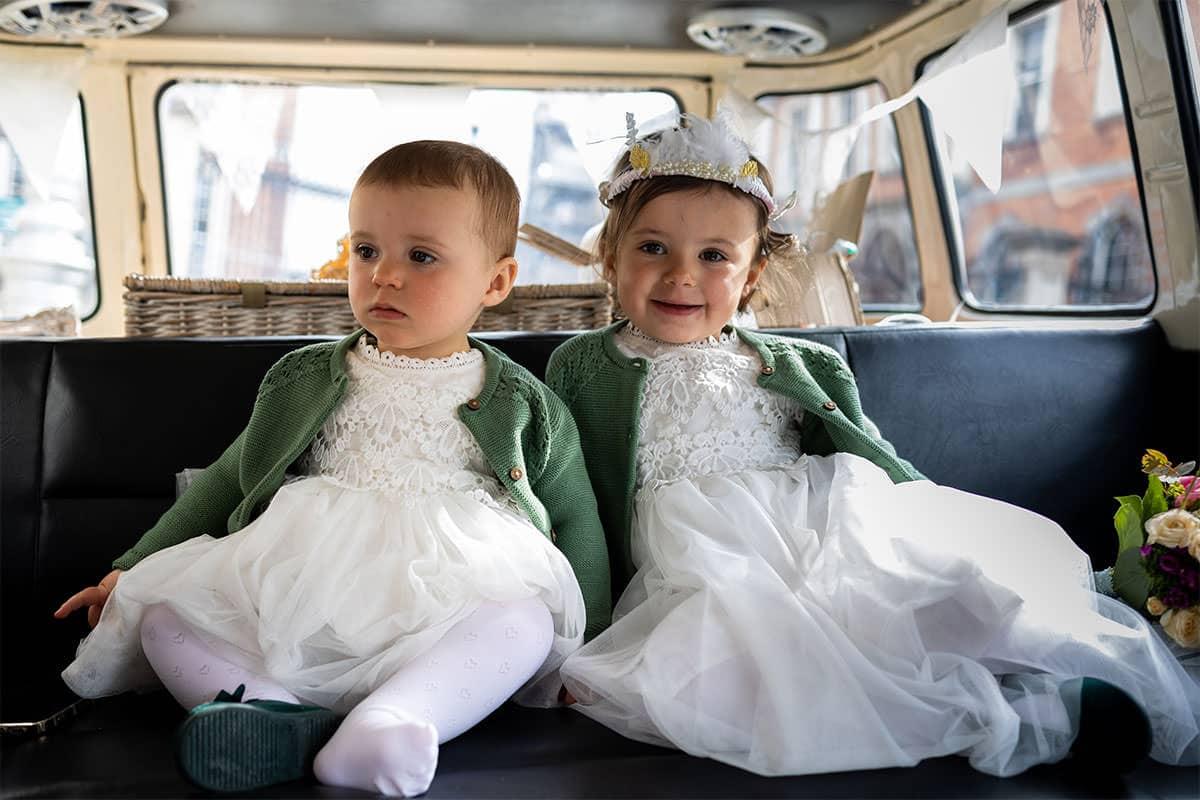 wedding transport VW bus Dublin city