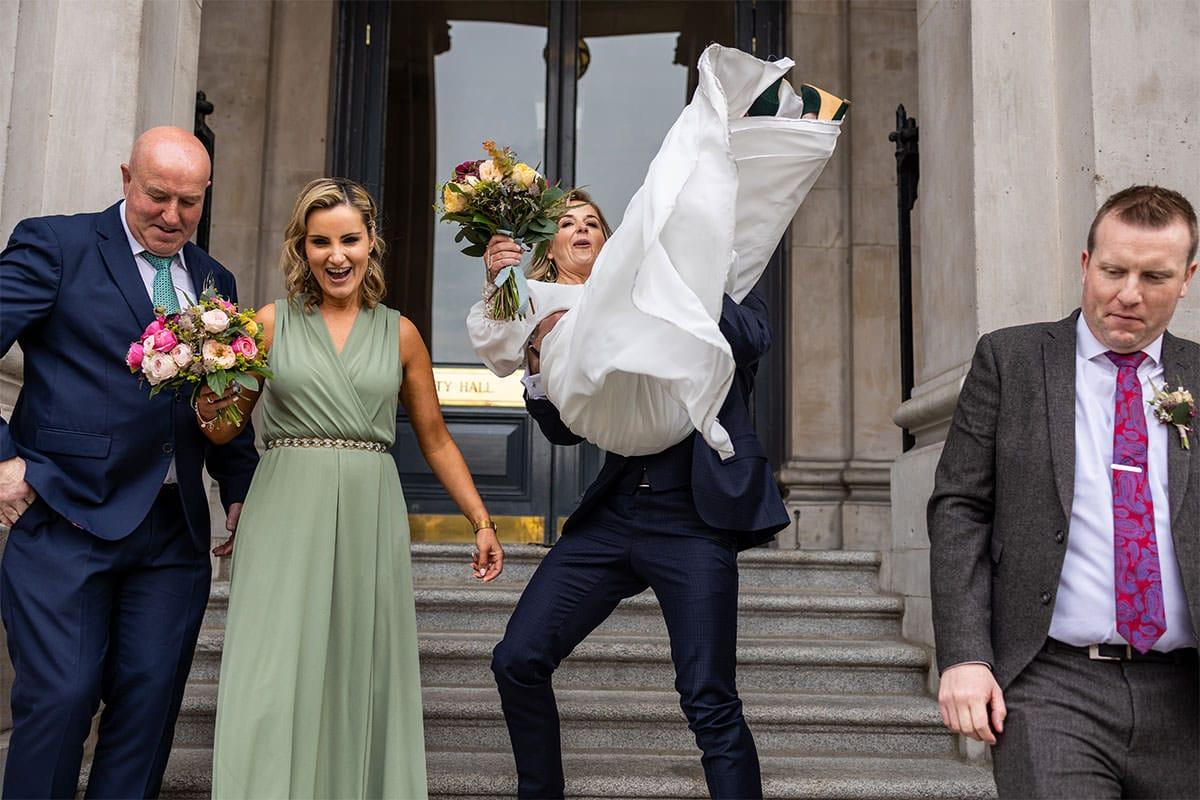 Dublin City Hall Wedding Photos