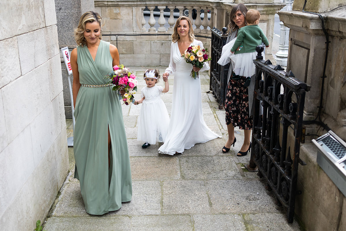 Bridal Party - Dublin City Hall Wedding