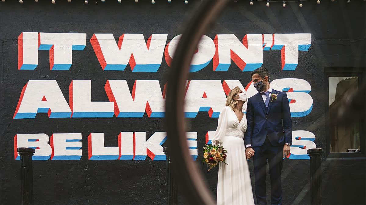 dublin city wedding photos
