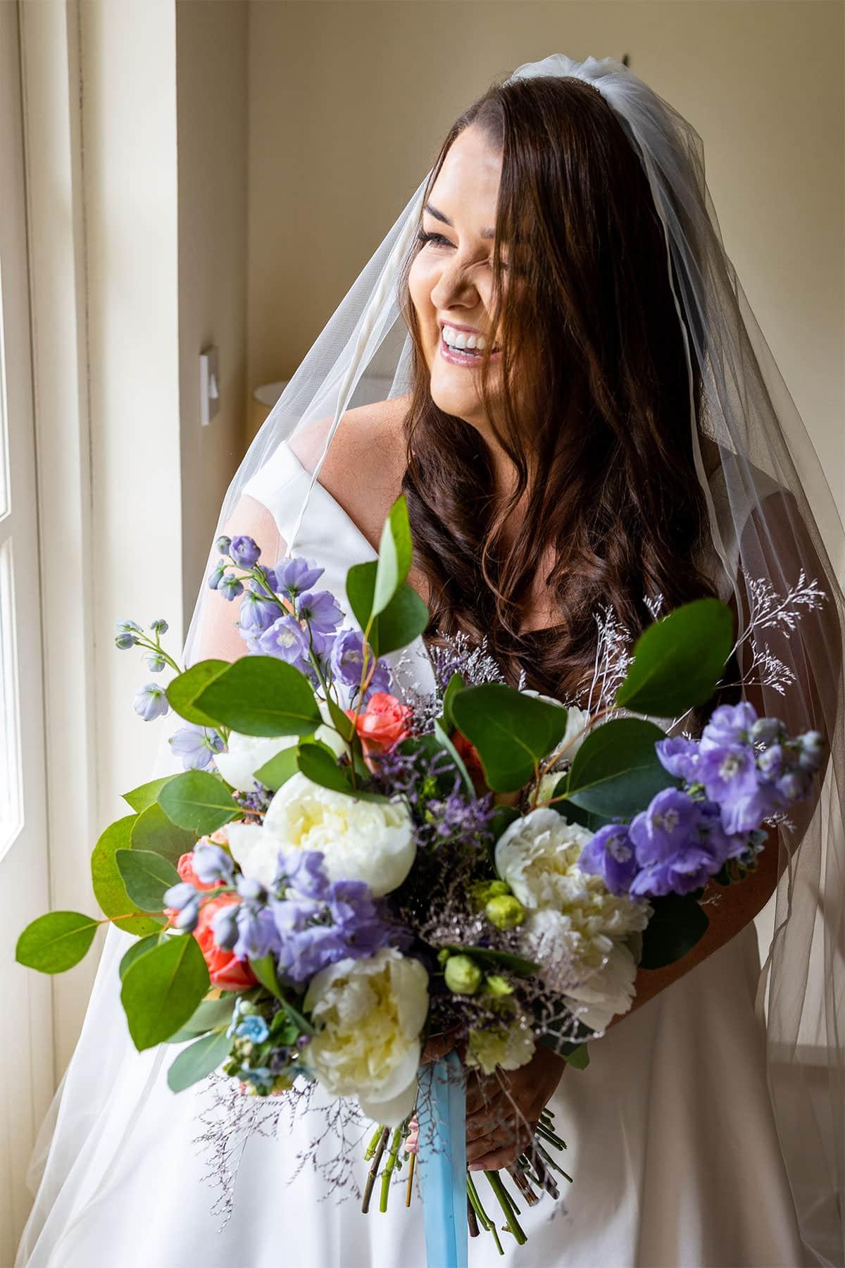 Coolbawn Quay Wedding Bridal Portrait