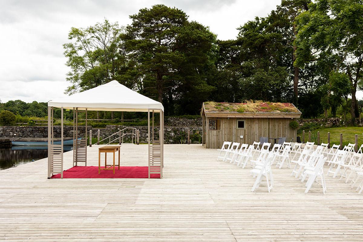Coolbawn Quay Wedding Ceremony