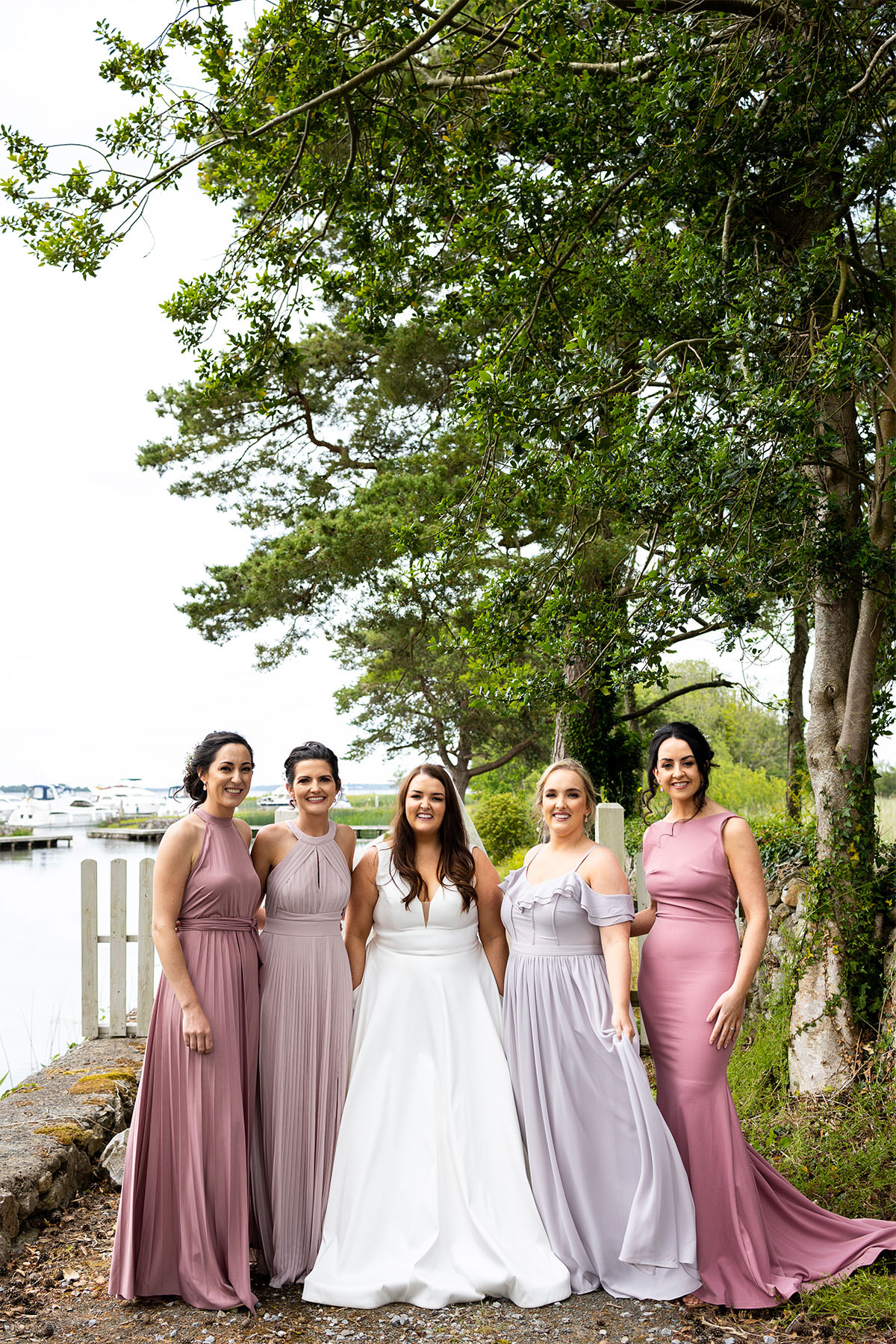 Coolbawn Quay Wedding Photographer - Bridal Party