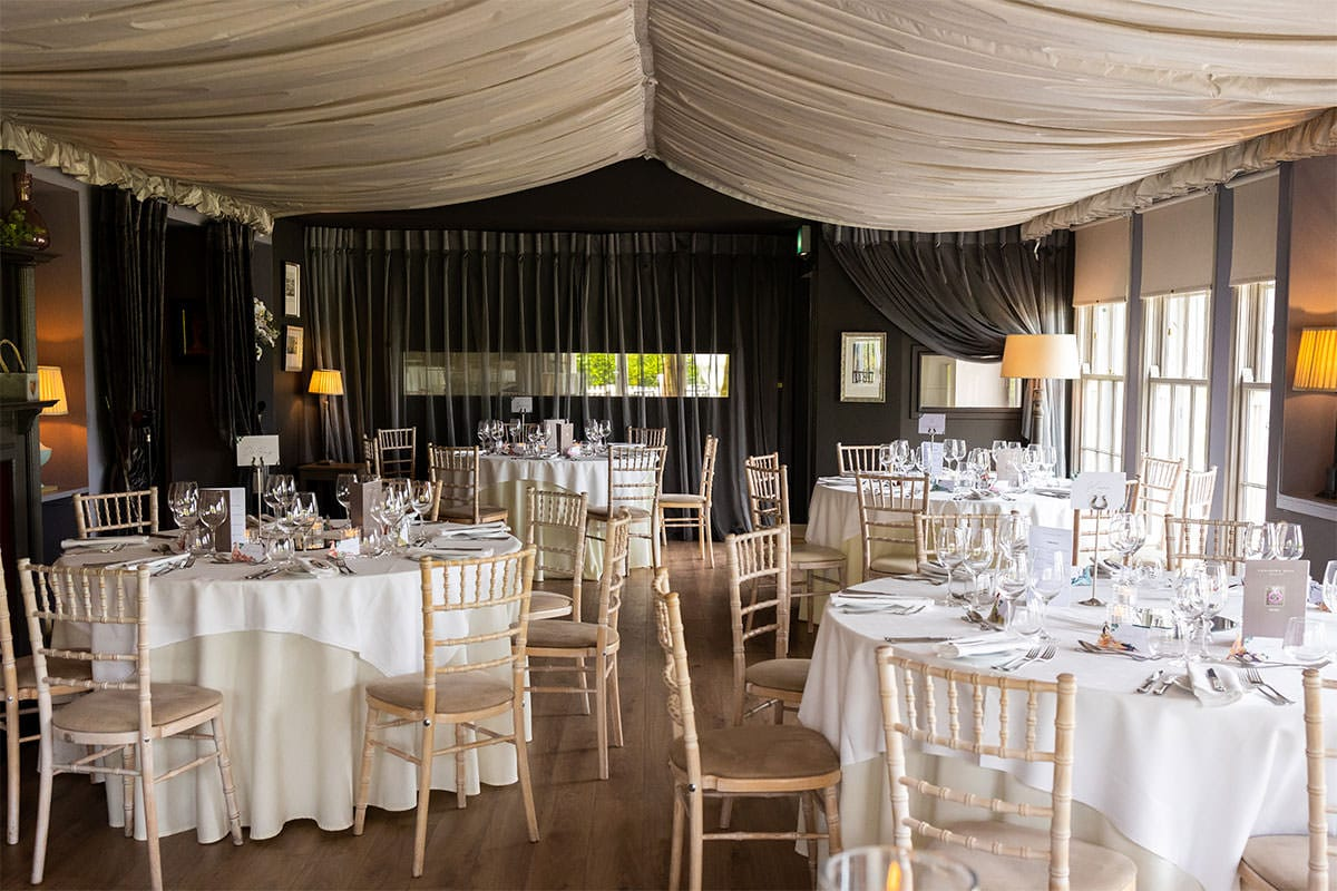 Coolbawn Quay Wedding Photographer - reception space