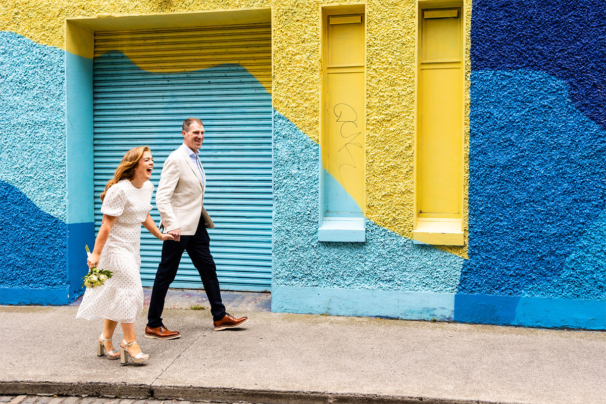 Grand Canal Dock Dublin City Wedding Photos