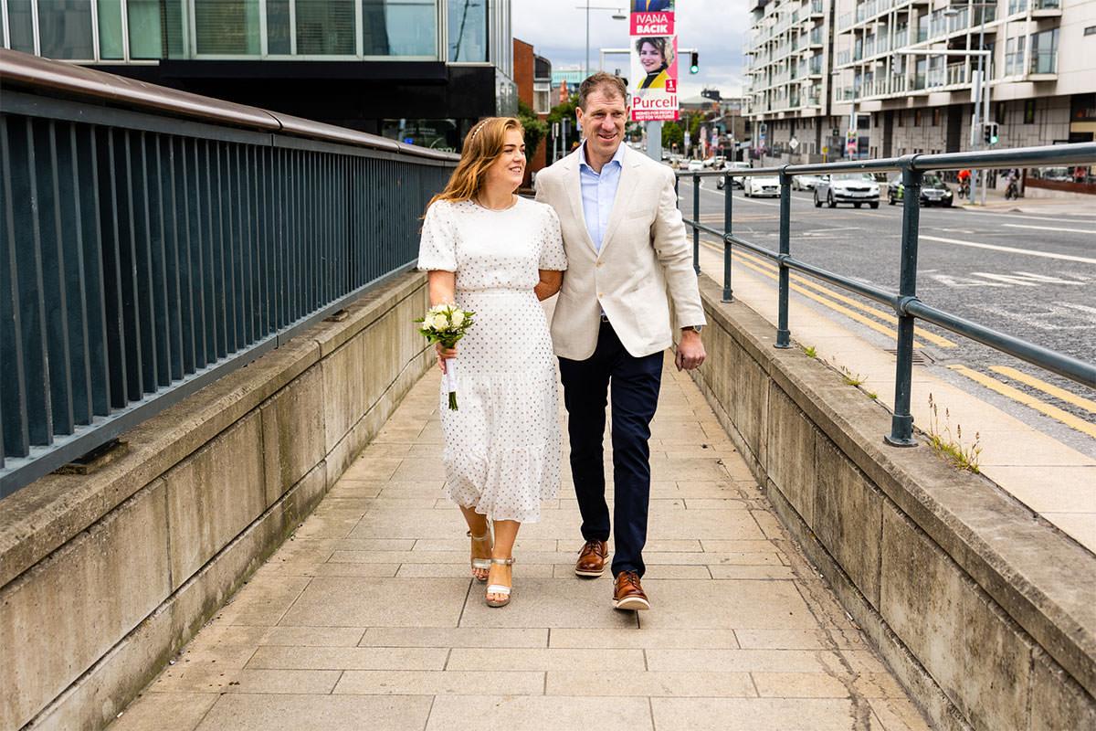 Historic Dublin City Wedding Photos